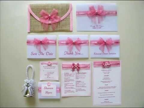 Philippine Wedding Invitations, Unique Wedding Invitations