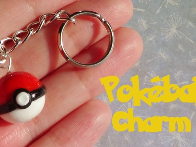 Pokémon: Pokéball Charm- Polymer Clay Tutorial