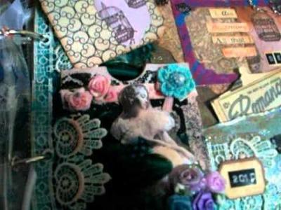 Sample art journal.mixed media mini album