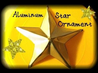 ✯ Soda Can Star Ornament Tutorial ✯