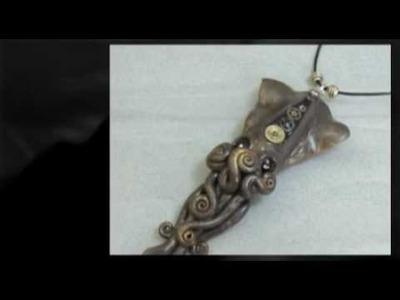 Steampunk Cephalopod Jewelry by Noadi's Art (Old)