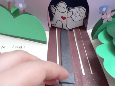 A Handmade Pop Up Book for Muni