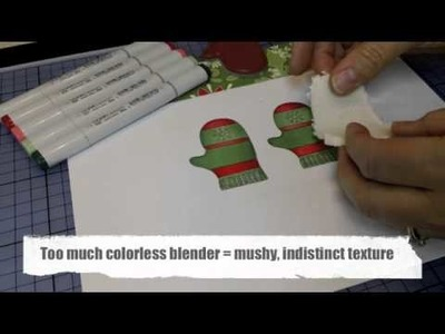 Adding Texture with Copic Colorless Blender Solution.m4v