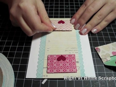 Be My Valentine Video Series | How to: Designing with Silhouette: Envelopes