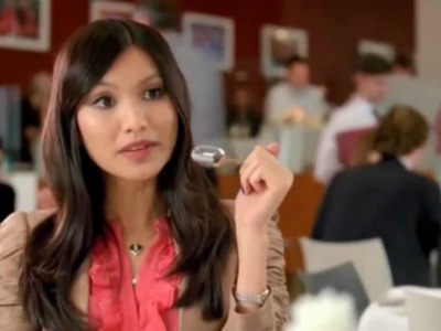 Bing and Decide Advert with a BEAUTY!  (it's GEMMA CHAN)