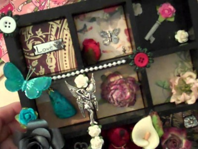 Bookmarks and Altered wood Tray