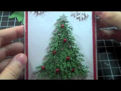 Christmas Tree Card Preview