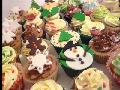 Cupcake Ideas: Christmas Cupcake Ideas