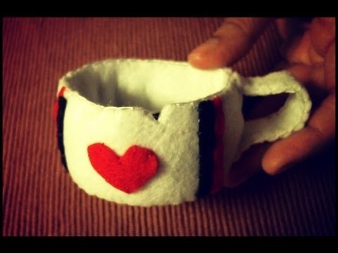 Day 6 of 7 of Alice In Wonderland: Chipped Tea Cup Plushie