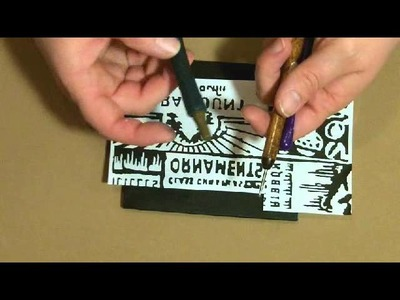 Day 6: Tim Holtz' 12 Tags of Christmas - Tutorial