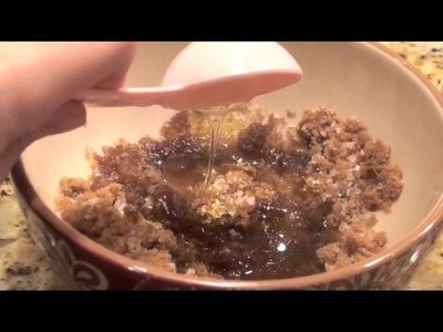 DIY: Homemade Body Scrub-Get Glowing Skin! (Lemony Brown Sugar Scent!) -MADSCustomHairDesign