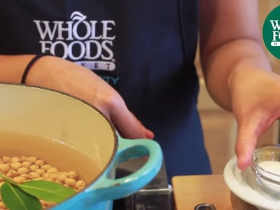 Easy Cooking: How to Cook Chickpeas | Quick & Simple | Whole Foods Market