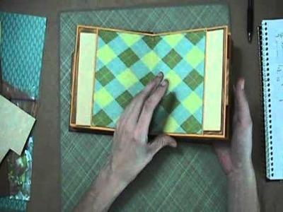 Finished Envelope Mini Album Overview