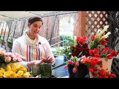 Floral design tips for parties and events (The Journey Blog 2.5.10)