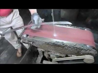Forging a Japanese Samurai Sword How a Katana is Really Made in China