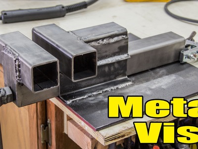 Having Some Fun Making A Metal vise - 193