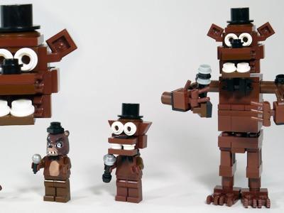 How To Build: LEGO Freddy Fazbear (Five Nights at Freddy's   FNAF)
