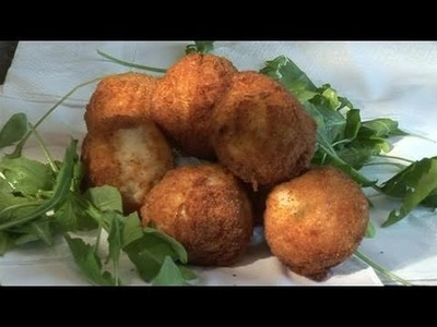 How To Do A Chunky Mozzarella Risotto Balls Recipe