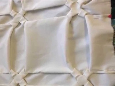 How To Do Canadian Smocking (same pattern 4 techniques) Part 1 of 4 By Rose