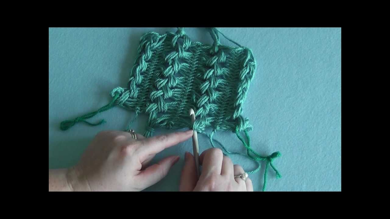 How To: Hairpin Lace - Finishing Ends with Tassles (Part 5)