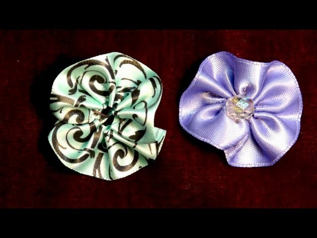 How To Make a Baby Ribbon Rosette