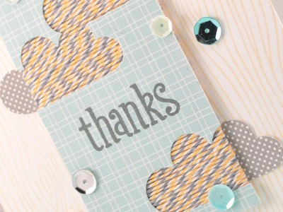 How To: Make a Fun Thank You Card