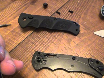 "How To : Make A Manual Knife An Automatic Knife (""Stiletto"",""Switchblade"" & ""Switch Knife"")"