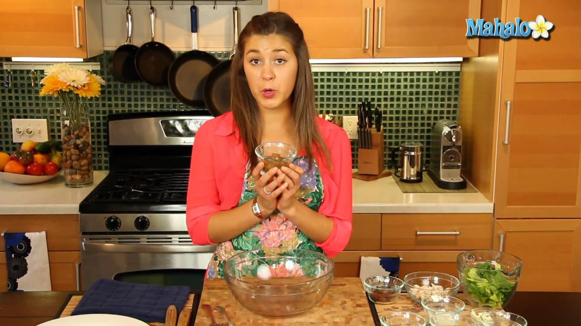 How to Make Chutney Chicken Salad