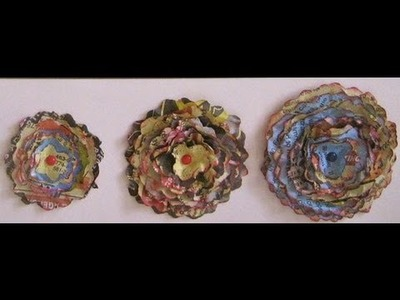 How to make layered 3D paper flowers - Natalie's Creations