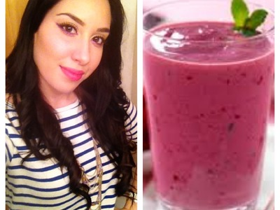 How To Make Simple Healthy Smoothies!!