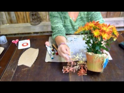 How to: Paper Vase with Sizzix ScoreBoard