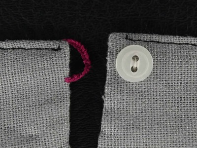 How To Sew A Thread Loop