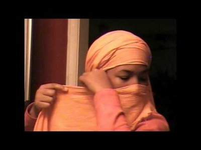 How to wrap a headwrap and veil