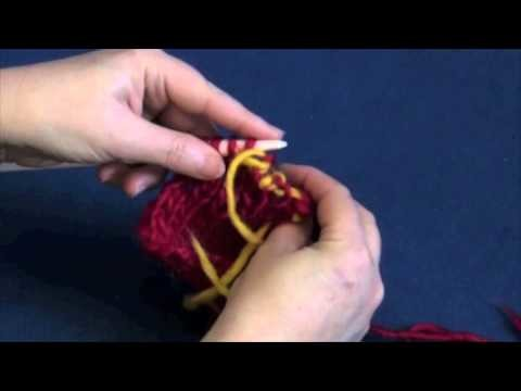 Invisible Sewn Ribbed Bind Off