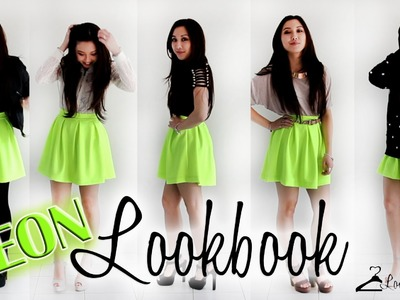 Lookbook - How to style a Neon skirt