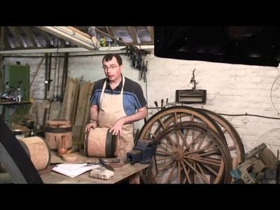 Making a Wooden Carriage Wheel pt 1