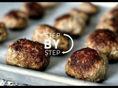 Meatballs! How to Make Meatballs, Meatballs Recipe, The Best Meatballs Recipe, Baked Meatballs