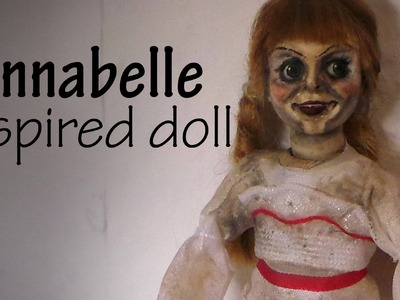 Polymer Clay Annabelle Inspired Miniature Doll Tutorial