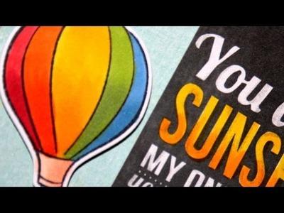 SSS September Card Kit - Sunshine