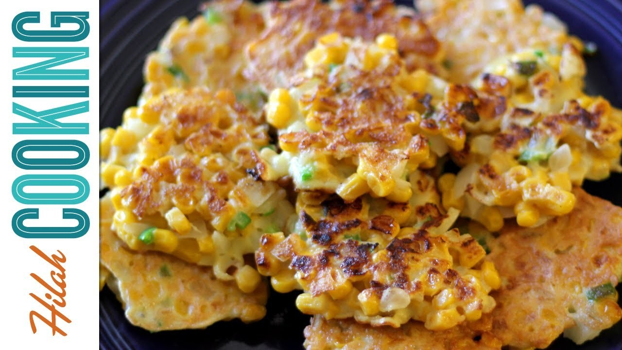 Corn Fritters Recipe - How To Make Corn Fritters