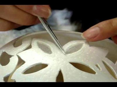 Egg Art Processing by Helena Kim Ju