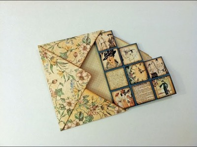 Flat Envelope for Blocks Card