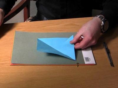 Fold a paper windmill