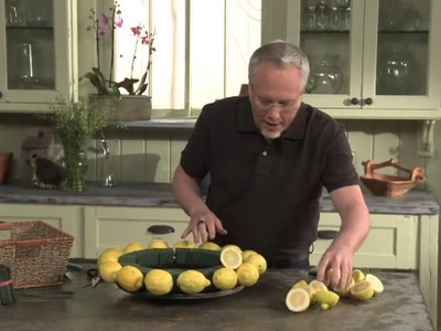 How to Arrange Flowers: Create a Fruit and Flower Arrangement