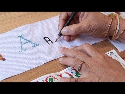 How To Cross Stitch The Alphabet