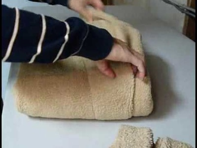 How to Fold a Bathrobe