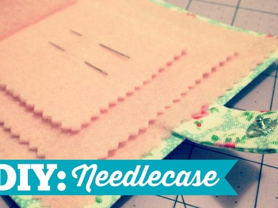 How to Make a Simple Needlecase!