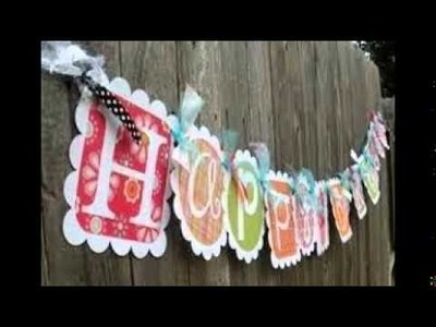How To Make Birthday Banners