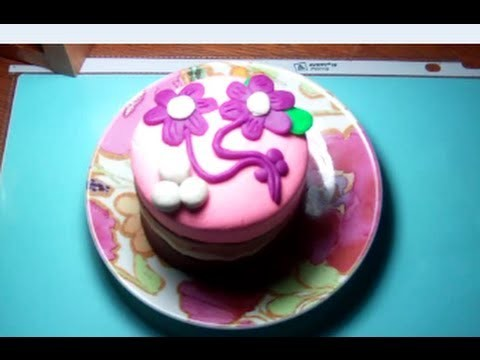 How to make birthday cake from Play-doh