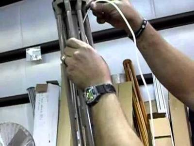 How To Restring An Auto Tilt Umbrella.flv